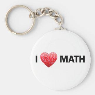 I llavero de la matemáticas del corazón