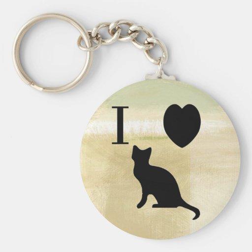I llavero de los gatitos del corazón
