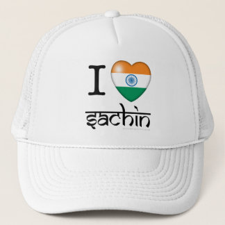 I lLove Sachin (Tendulkar) Trucker Hat