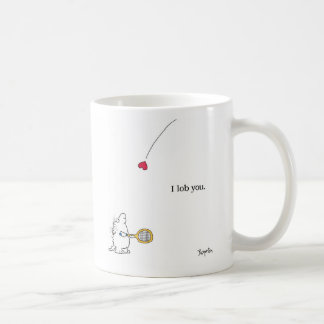 I LOB YOU by Sandra Boynton Coffee Mug