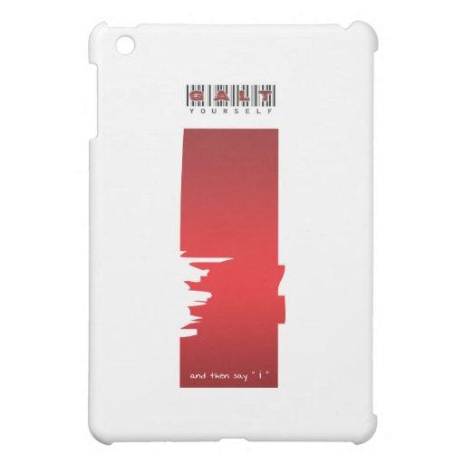 """"""" i """" logo iPad mini case"""