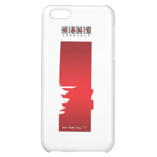 """"""" i """" logo cover for iPhone 5C"""