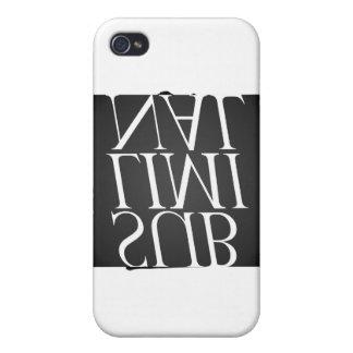 i logotipo subconsciente iPhone 4 carcasas