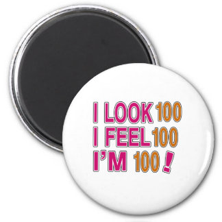 I Look And I Feel 100 2 Inch Round Magnet