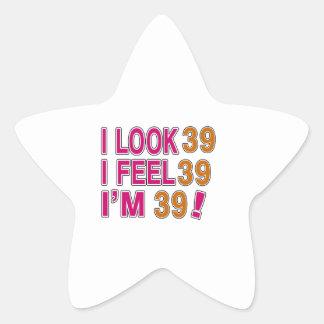 I Look And I Feel 39 Star Sticker