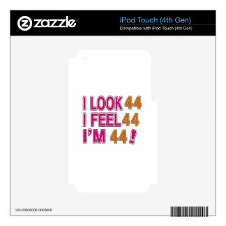 I Look And I Feel 44 iPod Touch 4G Decals