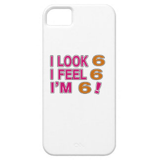 I Look And I Feel 6 iPhone SE/5/5s Case