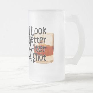 I Look Better After A Shot Glass Mug 1