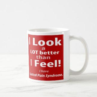 I LOOK better than I FEEL. Mug