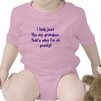 """I Look Like Grandma"" T Shirts"