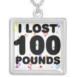 I Lost 100 Lbs Party Necklace