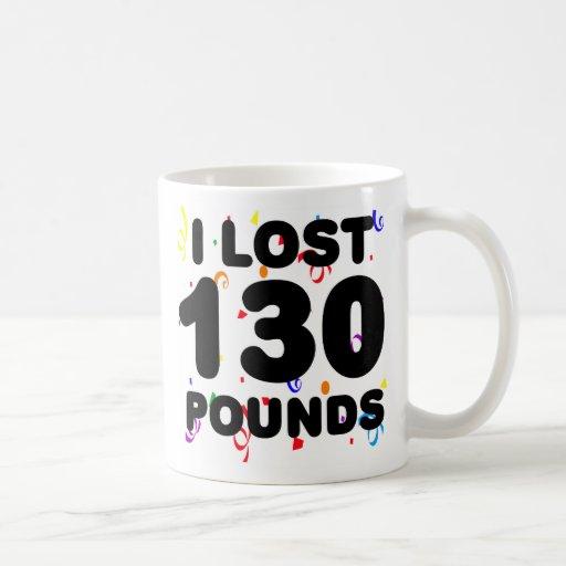 I Lost 130 Pounds Party Mug