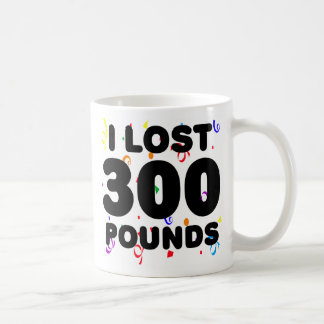 I Lost 300 Pounds Party Classic White Coffee Mug