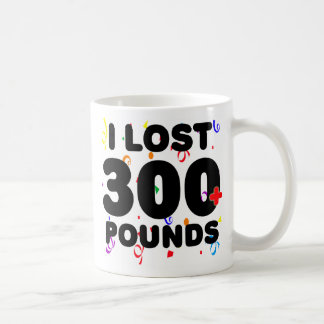 I Lost 300+ Pounds Party Classic White Coffee Mug