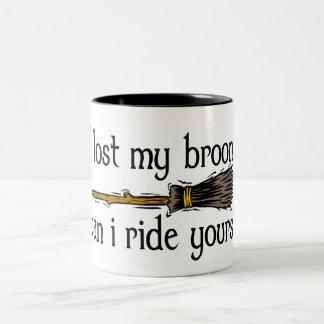 I lost my broom mug
