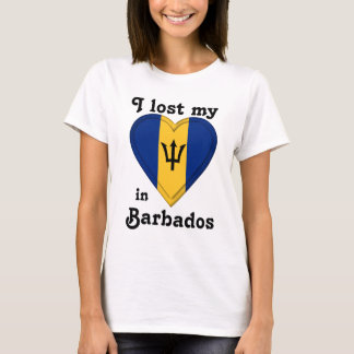 I lost my heart in Barbados T-Shirt