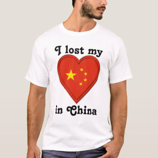 I lost my heart in China T-Shirt