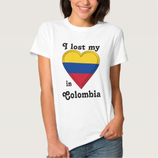 I lost my heart in Colombia T-shirt