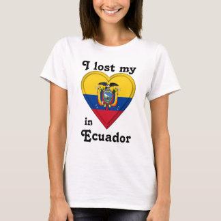 I lost my heart in Ecuador T-Shirt