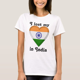 I lost my heart in India T-Shirt