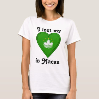 I lost my heart in Macau T-Shirt