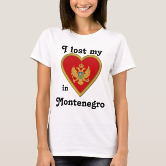 I lost my heart in Montenegro T-Shirt