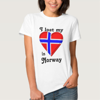 I lost my heart in Norway T Shirt