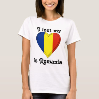 I lost my heart in Romania T-Shirt