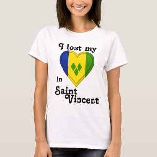 I lost my heart in Saint Vincent T-Shirt