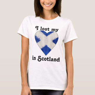 I lost my heart in Scotland T-Shirt
