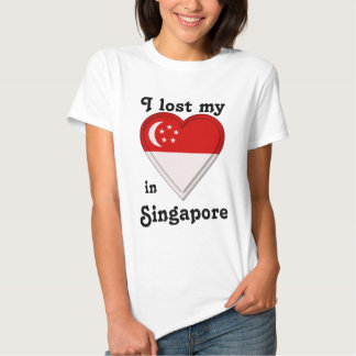 I lost my heart in Singapore Tee Shirt