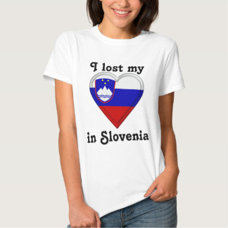 I lost my heart in Slovenia T-Shirt