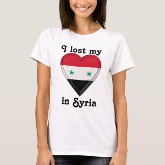 I lost my heart in Syria T-Shirt