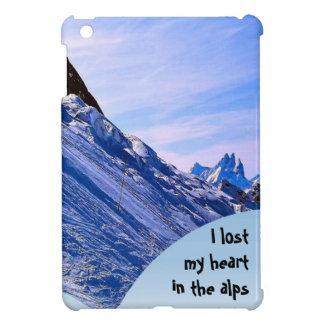 I lost my heart in the alps iPad mini cover