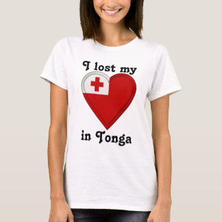 I lost my heart in Tonga T-Shirt