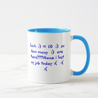 I lost my job mug
