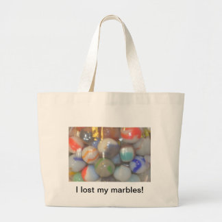 I lost my marbles products tote bag