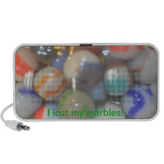 I lost my marbles! mp3 speaker