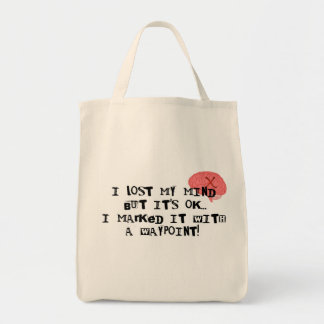 I Lost My Mind! Grocery Tote Bag