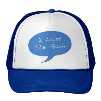 I Lost the Game Trucker Hat