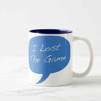I Lost the Game Two-Tone Coffee Mug