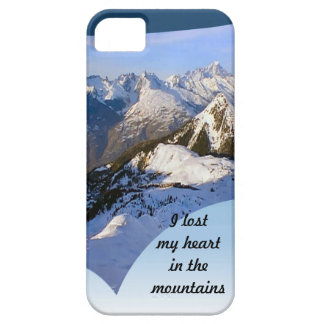 I losy my heart in the mountains  Mt Blanc range iPhone SE/5/5s Case