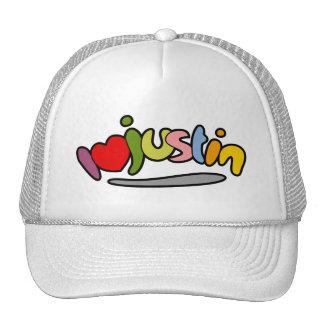 I Love   05 Mesh Hats