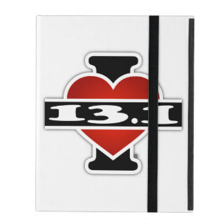 I Love 13.1 (Marathon) iPad Covers