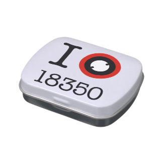 I Love 18350 Li-ion Batteries Candy Tins