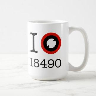I Love 18490 Li-Ion Batteries Coffee Mug