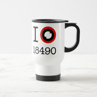 I Love 18490 Li-Ion Batteries Travel Mug