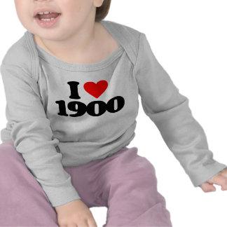 I LOVE 1900 SHIRT