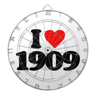 I LOVE 1909 DART BOARDS