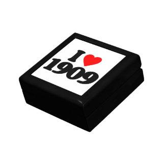 I LOVE 1909 GIFT BOX